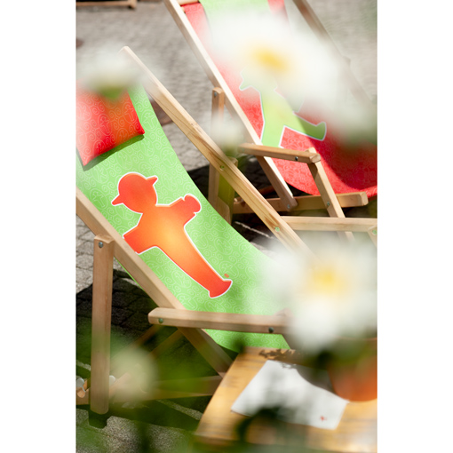 SONNENANBETER deck chair with a special price