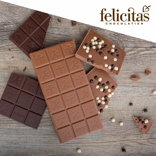AMPELMANN chocolate from Felicitas Confectionery
