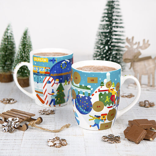 """It's back! <span style=""""color: #63c75f;"""">Our advent calender mug</span>"""